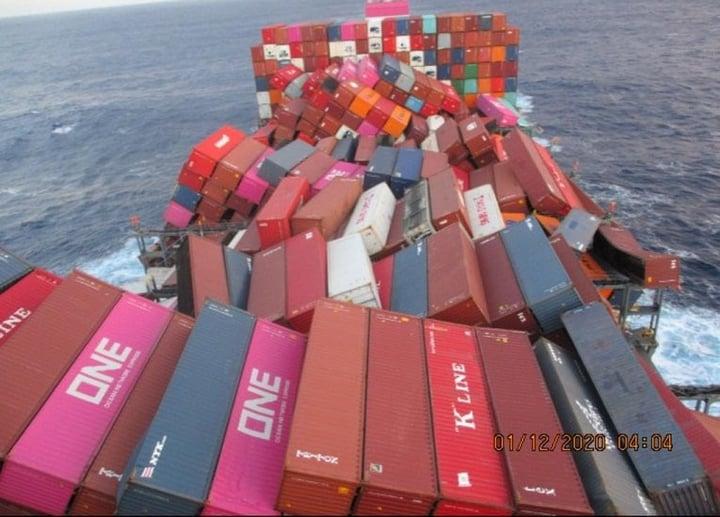 logistics.slync.iohubfsApus ONE Container Spill