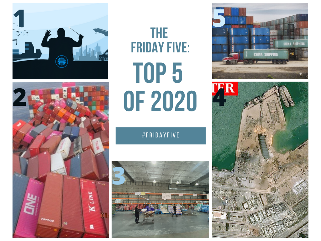 The Friday Five: Top 5 of 2020