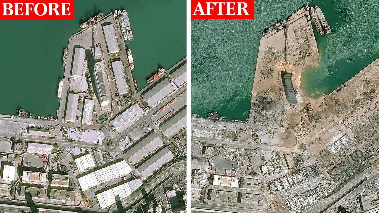 The Friday Five: Port of Beirut Explodes